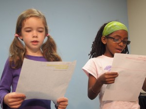 Students @ 3-2-1- Acting Classes in  Los Angeles for kids are practicing