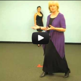 How Does a Runway Model do a Full Turn? A Video Modeling Lesson