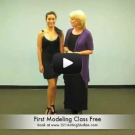 How to Turn Your Head on the Runway: A Video Modeling Lesson