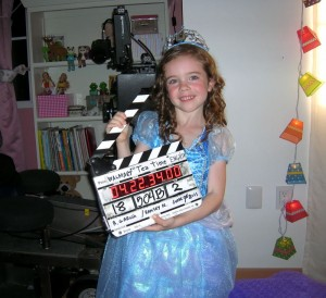 321Acting Student TARA BRENNAN on WALMART TV commercial Set