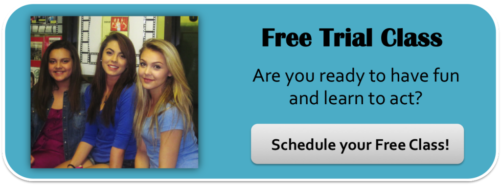 click here to schedule your free Trial Acting Class at 3-2-1- Acting Studios!