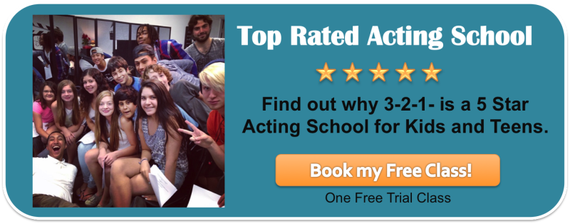 Try a FREE trial acting class at 3-2-1- Acting Studios in Los Angeles