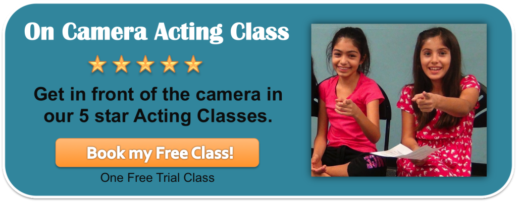 learn how to slate on camera auditions at a free trial acting class you can schedule by clicking this link. Encourage yourself!