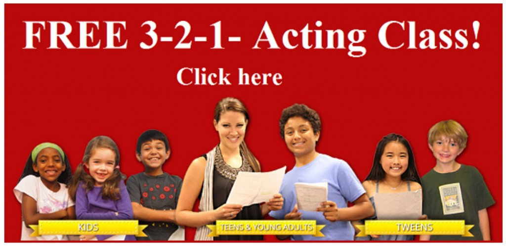 Image how to schedule a trial acting class here at 3-2-1- acting school.