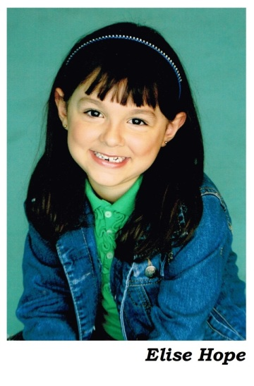 child actor Elise Hope and her family decided to use an actor stage name.