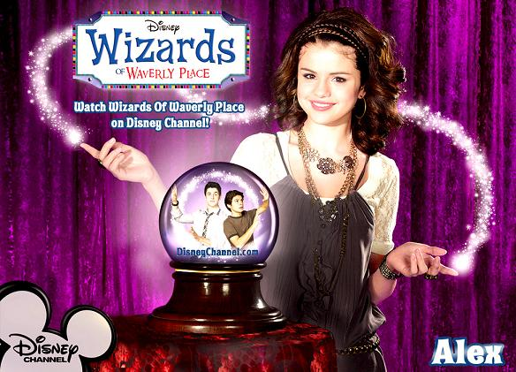 Selena as Alex on Wizards 2