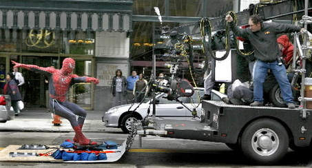 Large portions of Spiderman 3 were filmed on the streets of Cleveland!